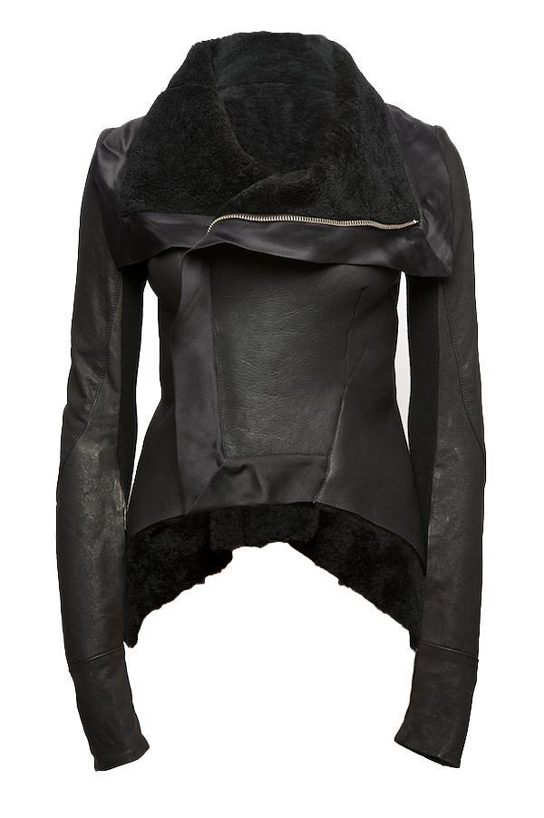 Sheepskin Leather Jacket | Santa Barbara Institute for