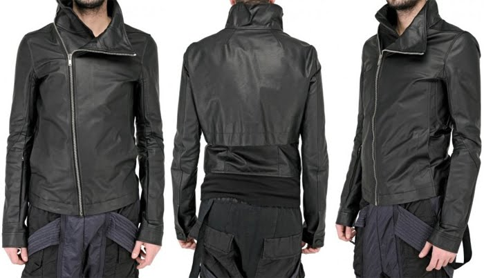 Lyst - Rick Owens Tan Leather Rick's Jacket in Brown for Men