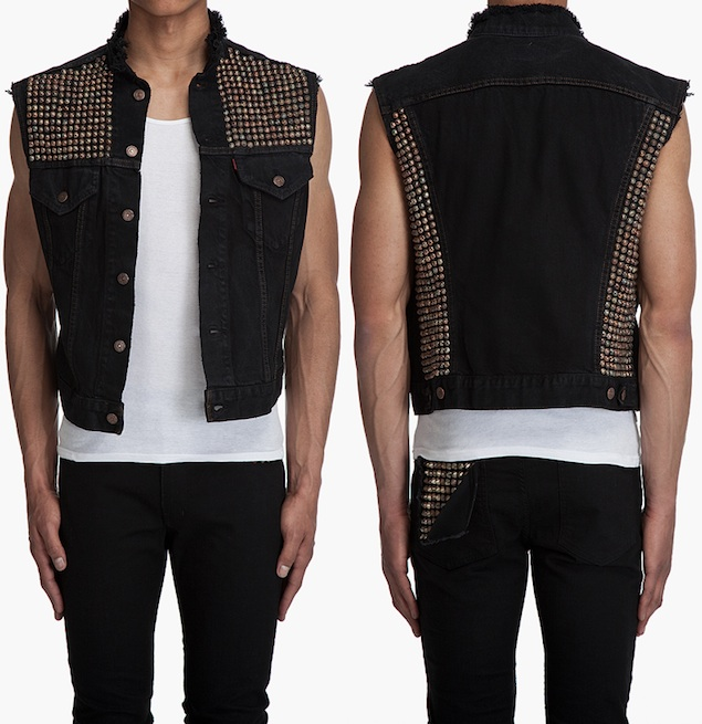 black vest and jeans - photo #37